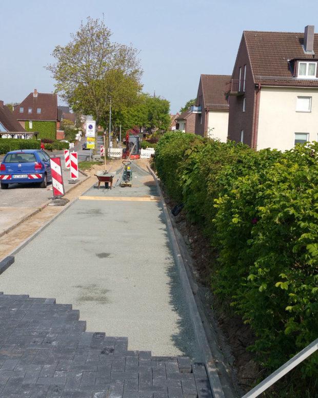 Sanierung Geh-/ Radweg Brodersdorfer Weg